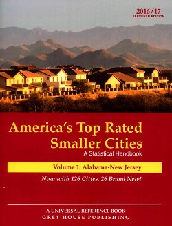 America's Top-Rated Smaller Cities : A Statistical Handbook: Alabama - New Jersey (Paperback)