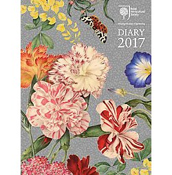 Royal Horticultural Society Diary Calendar 2017 (Hardcover)