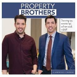 Property Brothers 2017 Calendar (Paperback)