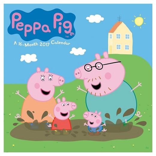 Peppa Pig 2017 Calendar Target