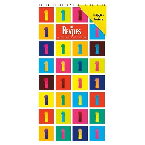 The Beatles 2017 Calendar - image 1 of 2