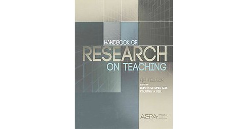 Handbook of Research on Teaching (Hardcover) - image 1 of 1