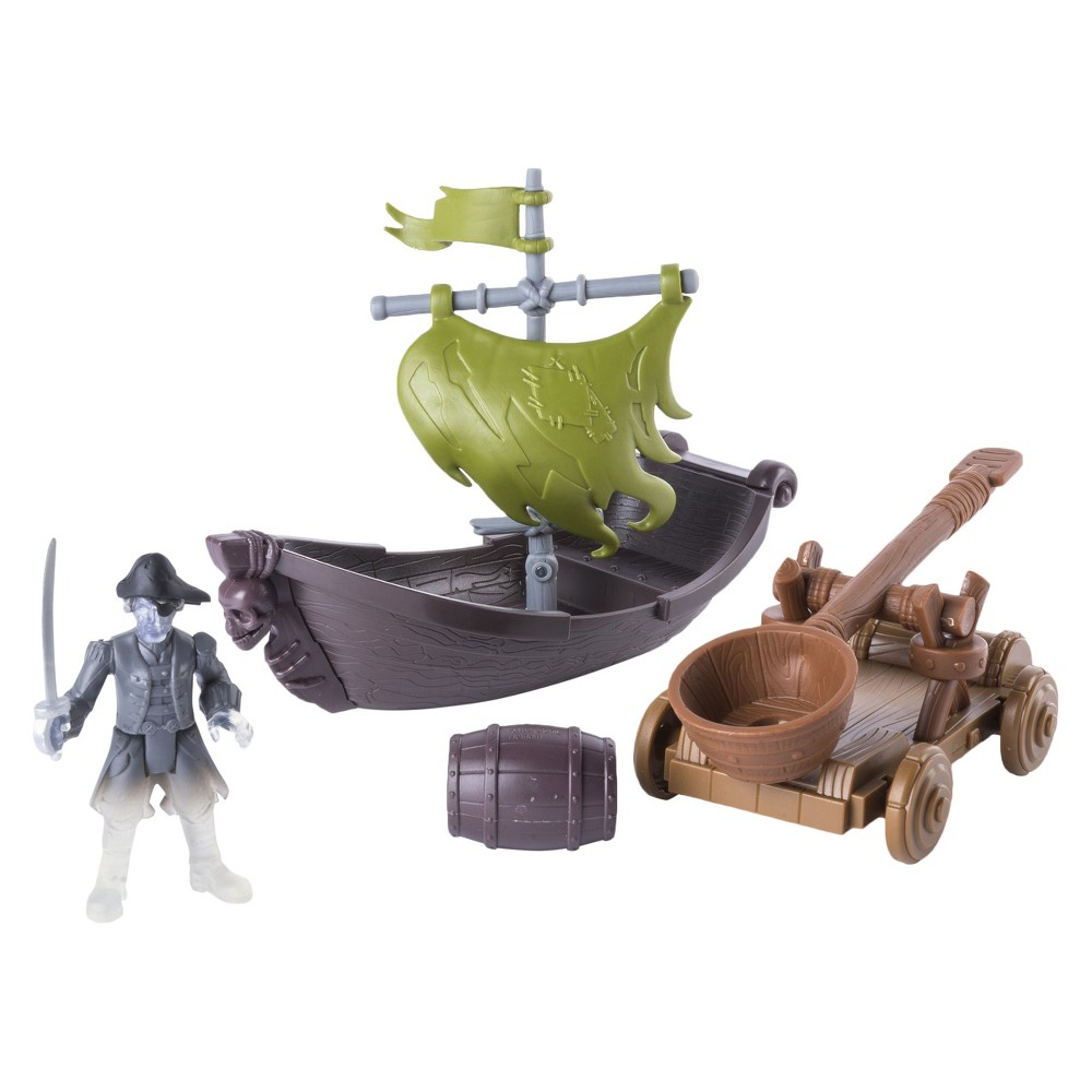 Pirates of the Caribbean Spin Master Boast & Catapult Action Figures, Multi-Colored