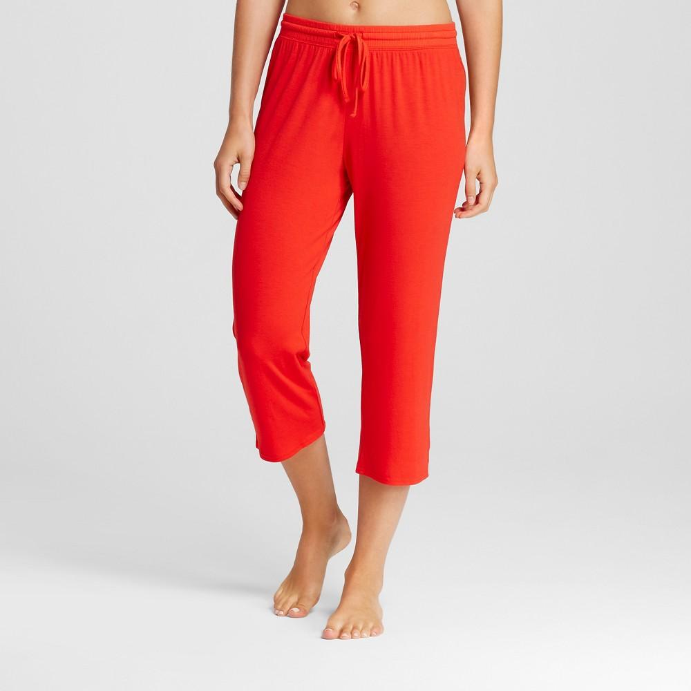 Womens Sleep Pants - Company Red M, Orange