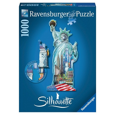 Ravensburger Statue of Liberty Shaped Puzzle - 1000pc
