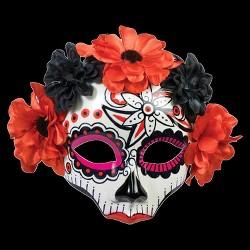Women's Day Of Dead Skull Mask