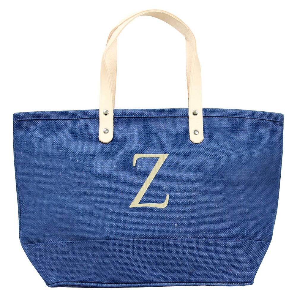 Womens Monogram Blue Nantucket Tote - Z, Size: Large, Blue - Z