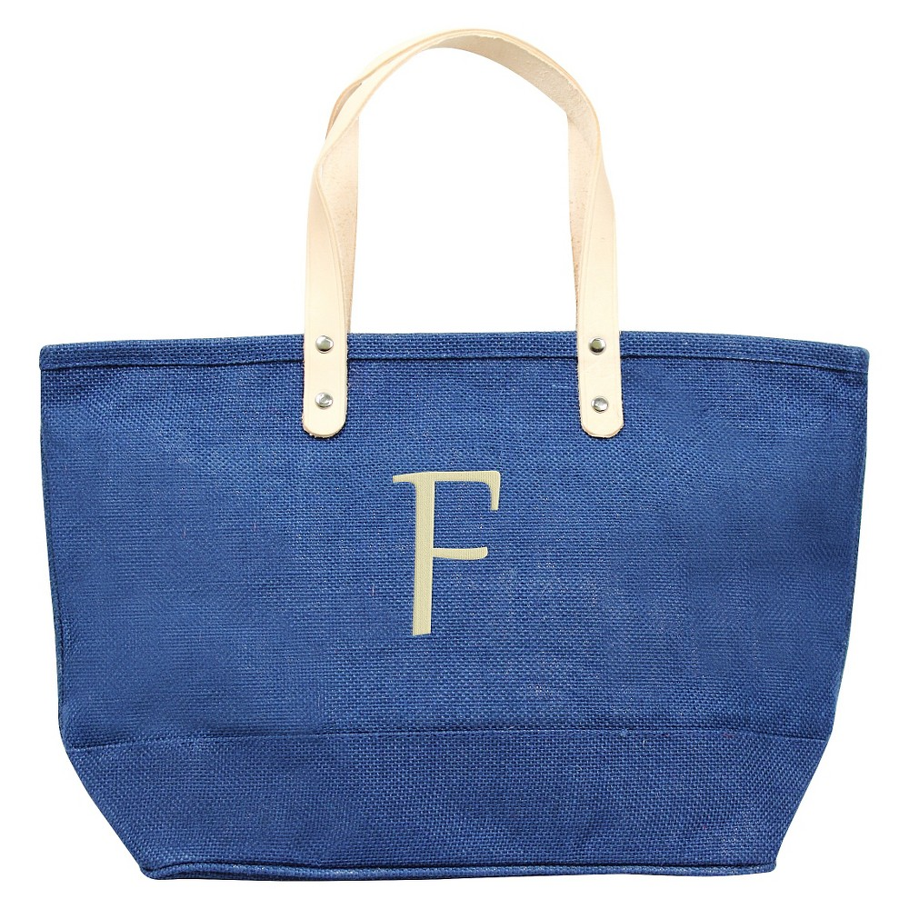 Womens Monogram Blue Nantucket Tote - F, Size: Large, Blue - F