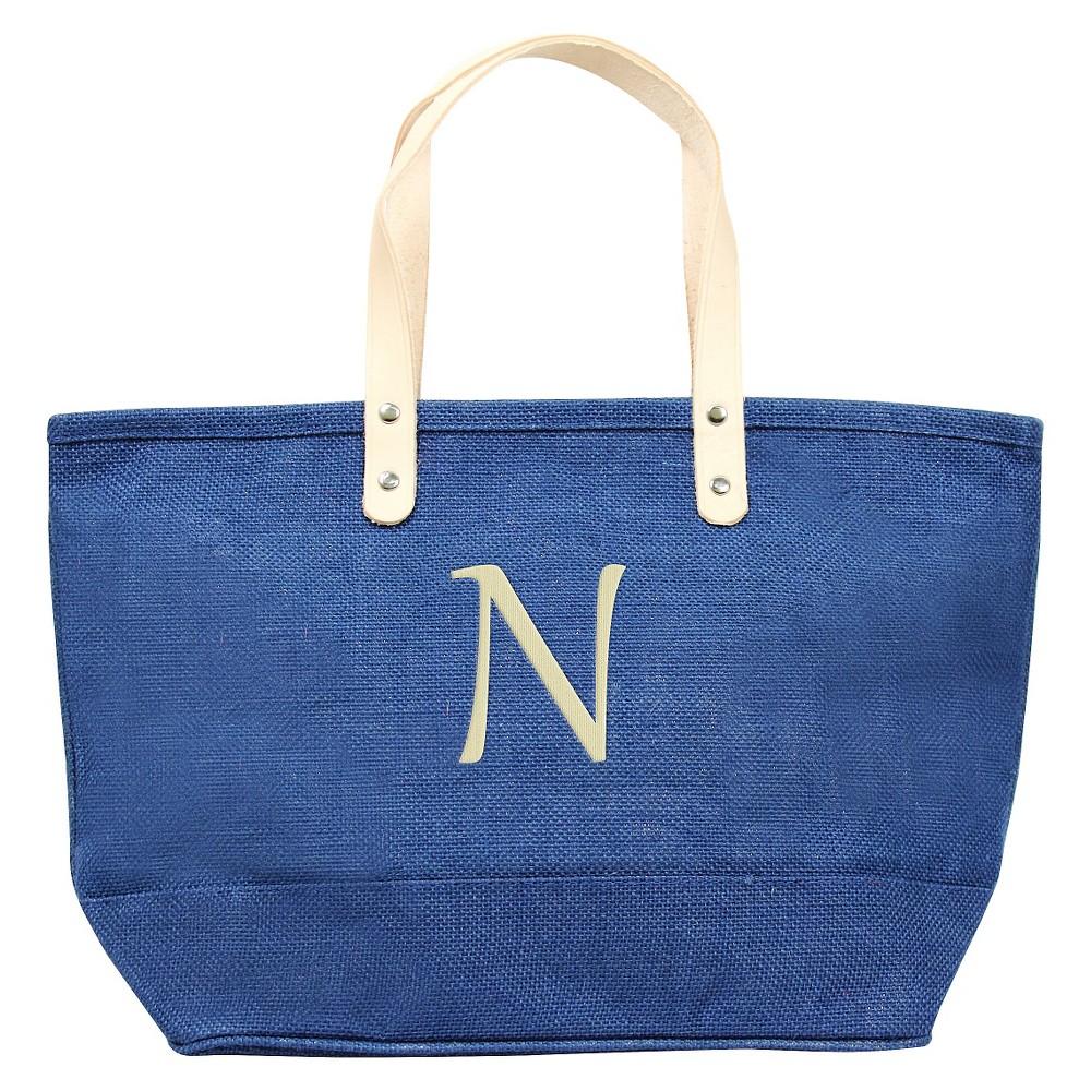 Womens Monogram Blue Nantucket Tote - N, Size: Large, Blue - N