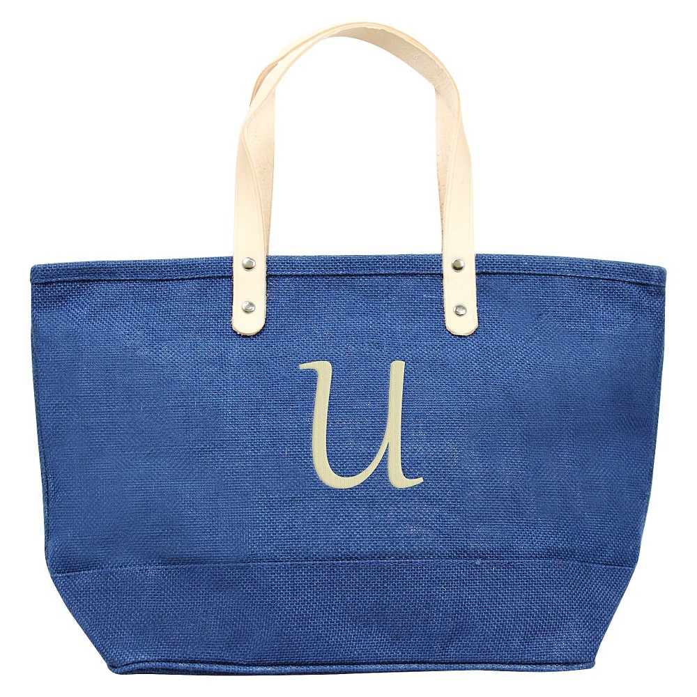 Womens Monogram Blue Nantucket Tote - U, Size: Large, Blue - U