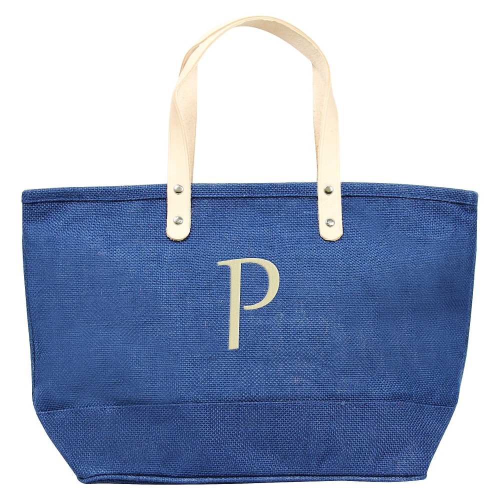 Womens Monogram Blue Nantucket Tote - P, Size: Large, Blue - P