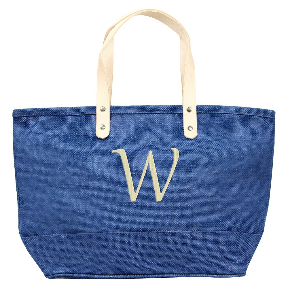 Womens Monogram Blue Nantucket Tote - W, Size: Large, Blue - W