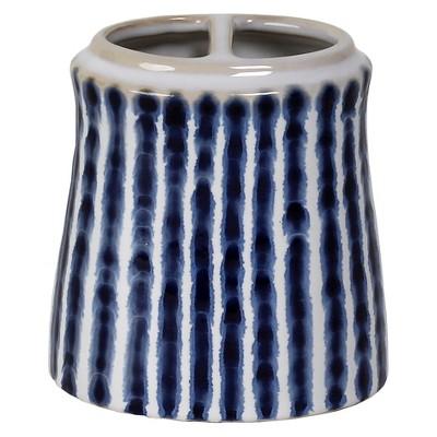 Waterfall Toothbrush Holder Blue/White - Saturday Knight Ltd.®