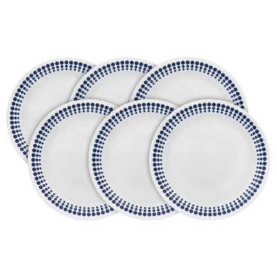 Corelle® Vintage Charm Spot On Appetizer Plate 8.5in - Set of 6