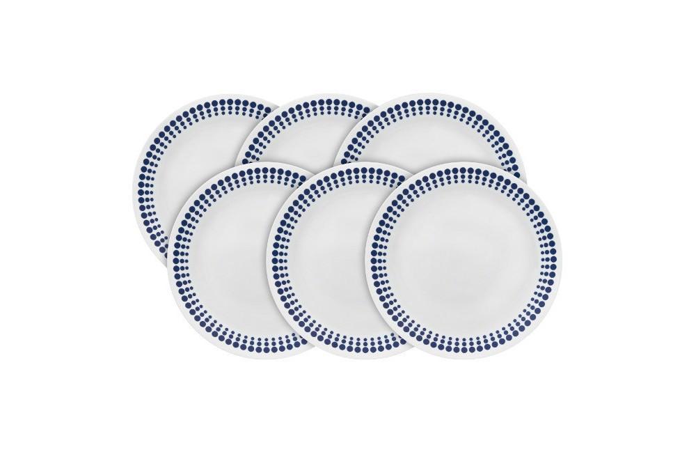 Corelle Vintage Charm Spot On Appetizer Plate 8.5in - Set...