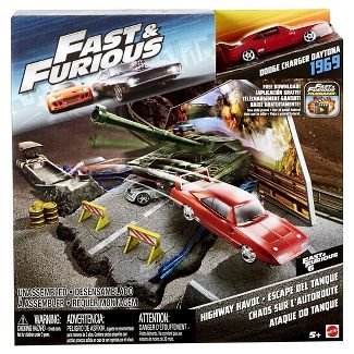 Fast & Furious Street Scenes Highway Havoc Playset