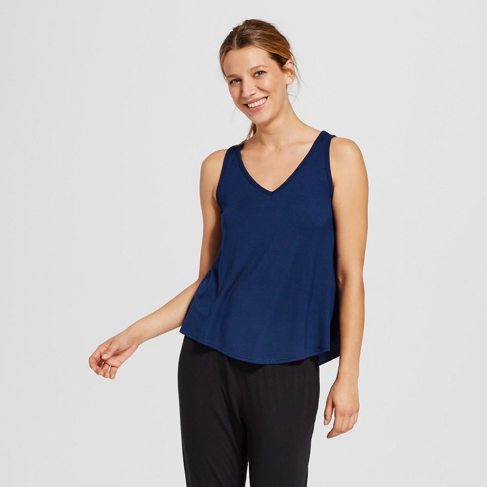 Women's Fluid Knit Top – Nighttime Blue XS