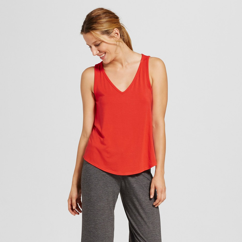 Womens Fluid Knit Top - Company Red Xxl, Orange