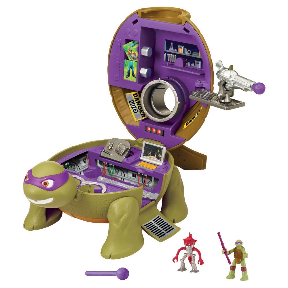 Teenage Mutant Ninja Turtles Micro Mutants Donatello's Lab Pet Turtle Playset
