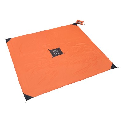 Monkey Mat® Your Ultra Compact Portable Floor - Orange Sunrise