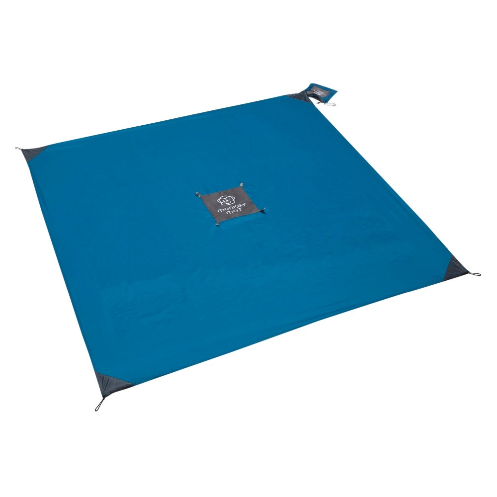 Image of Monkey Mat Your Ultra Compact Portable Floor - Blue Yonder