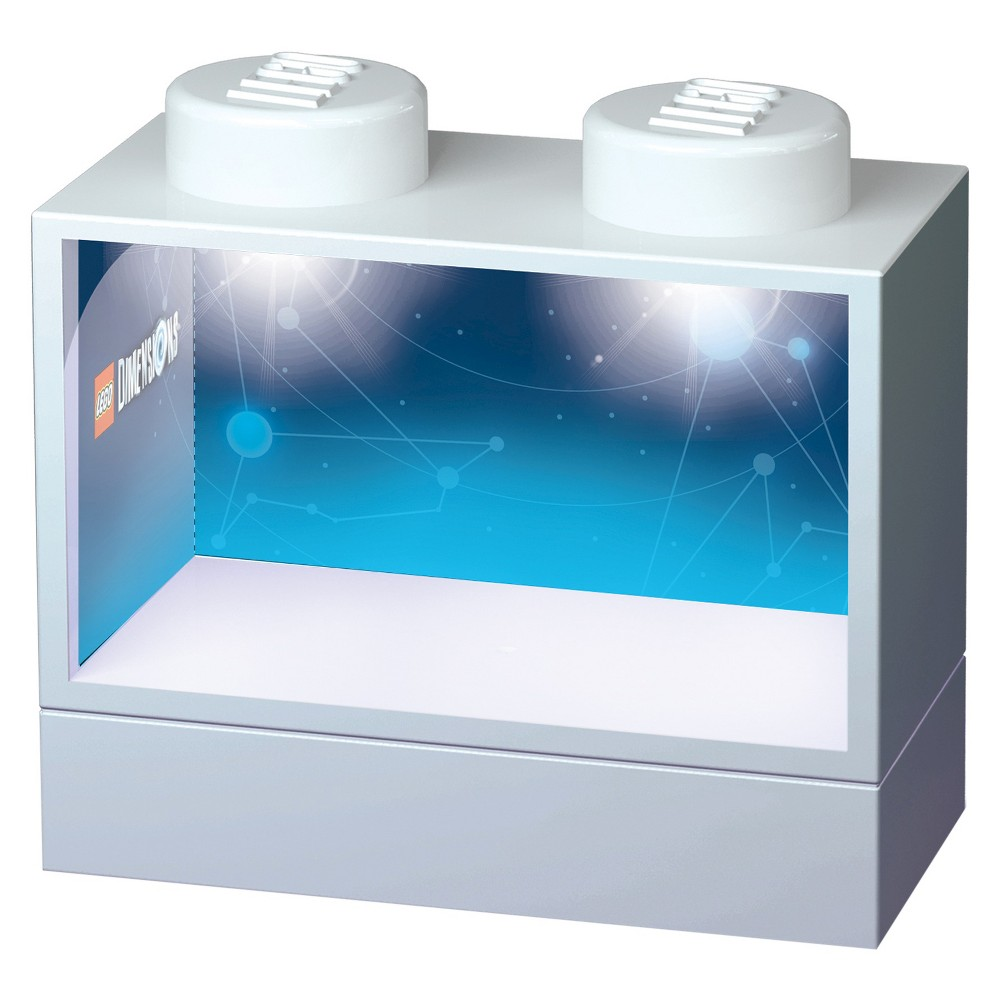 Santoki Dimensions Lighted Display Case - White