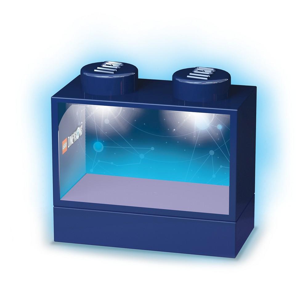 Santoki Dimensions Lighted Display Case-Blue