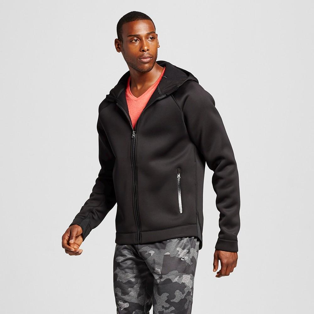 Men's Tech Fleece Heavyweight Full zip Jacket - C9 Champion Black XL