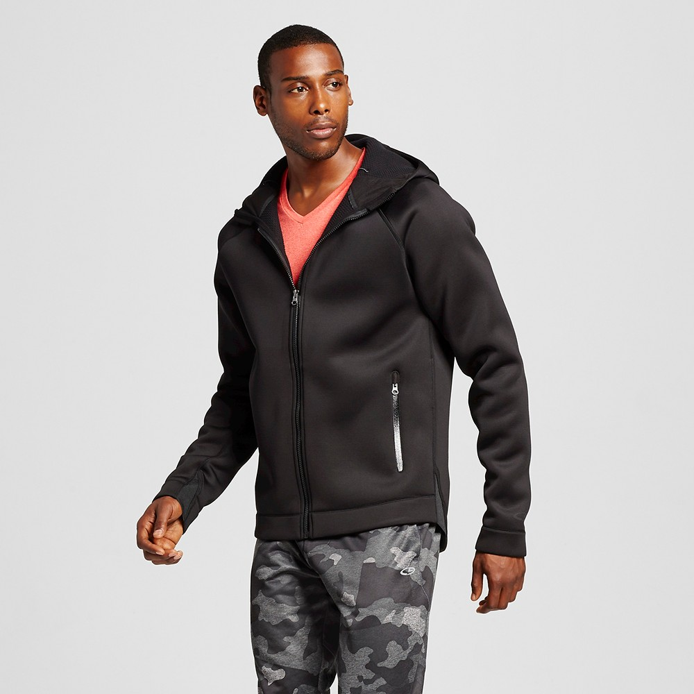 Men's Tech Fleece Heavyweight Full zip Jacket - C9 Champion Black 2XL, Size: Xxl