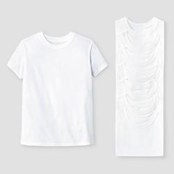 Hanes Red Label Boys' 8pk T-Shirt - White