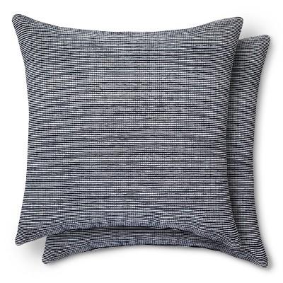 Texture Pillow Navy 2 pk - Modern by Dwell Magazine