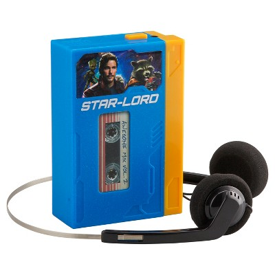 Guardians of The Galaxy Headphone and Cassette