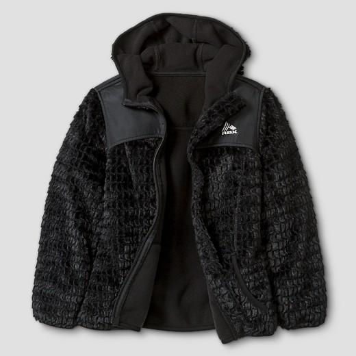 RBX Girls' Monkey Fleece Jacket with Hood : Target