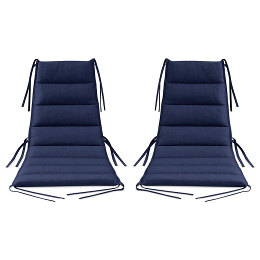 Lounge Chair Cushion 2 Pk Navy Modern By Dwell Magazine Target