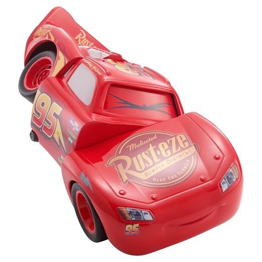Disney Pixar Cars Race And Reck Lightning Mcqueen Vehicle