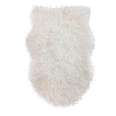 Faux Fur Pelt - White - Threshold™