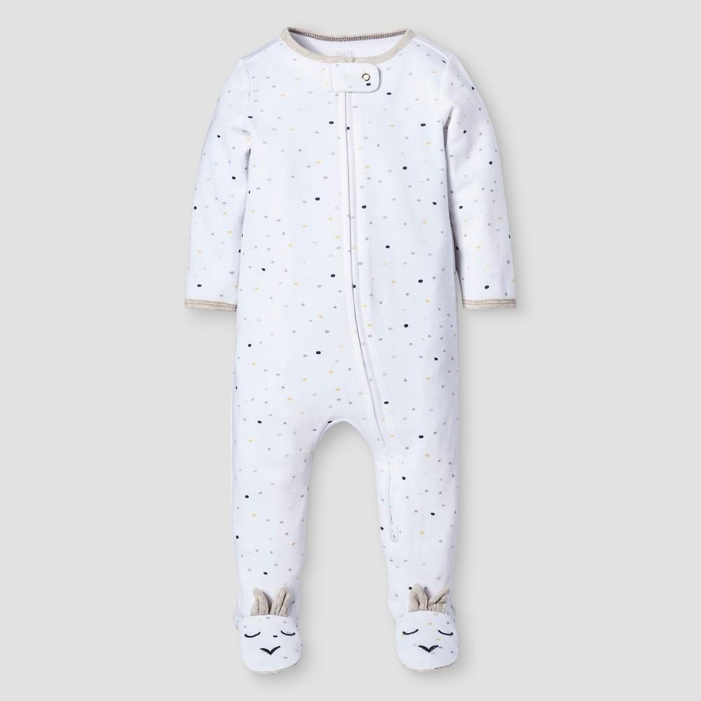 Baby Sleep N Play Nate Berkus - White/Oatmeal 6-9M, Infant Unisex, Size: 6-9 M, Beige