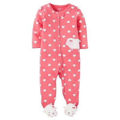 Just One You™ Made by Carter's® Baby Girls' Sleep N' Play Sheep - NB