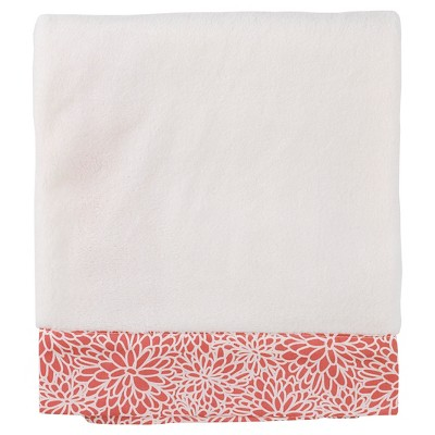 Balboa Baby Simply Soft Blanket - Coral Bloom