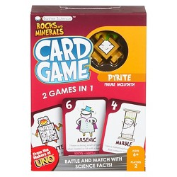 Basher Science Rock and Minerals Card Game
