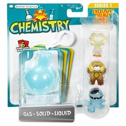 Basher Science Chemistry - Gas/Solid/Liquid 3-Pack