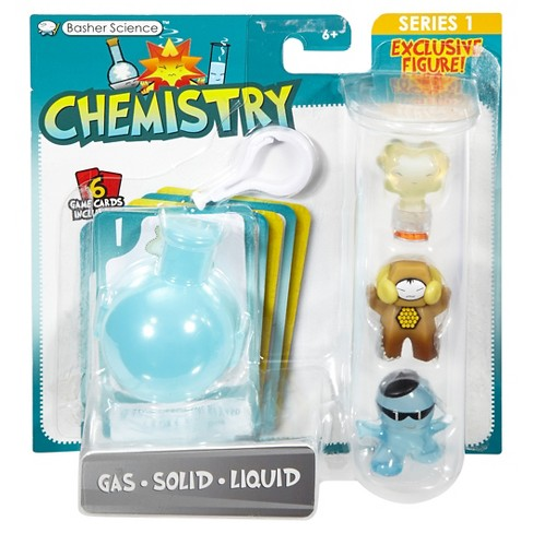 Basher Science Chemistry - Gas/Solid/Liquid 3-Pack - image 1 of 4