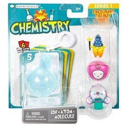 Basher Science Chemistry - Ion/Atom/Molecule 3-Pack