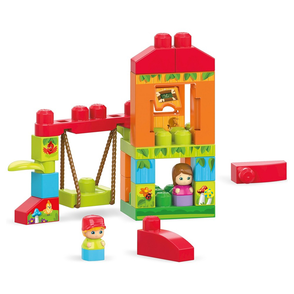Mega Bloks Spin and Play Treehouse Adventures Building Set, Multi-Colored