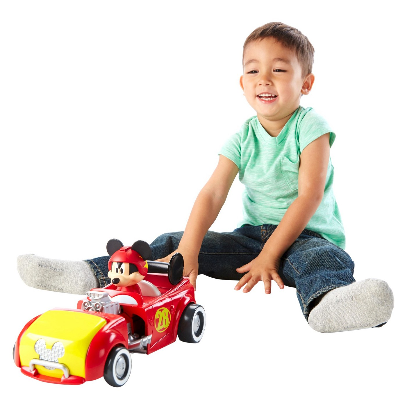 Fisher-Price Disney Mickey and the Roadster Racers Transforming Hot Rod Mickey - image 1 of 8