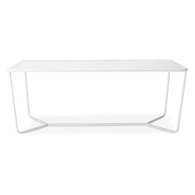 Rectangle Dining Table White   Modern By Dwell Magazine   Patio Tables :  Target