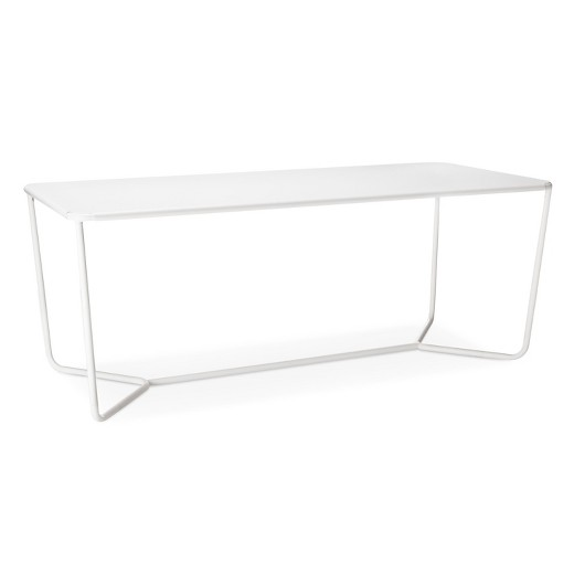 Rectangle Dining Table White Modern By Dwell Magazine  Target - White rectangular dining table