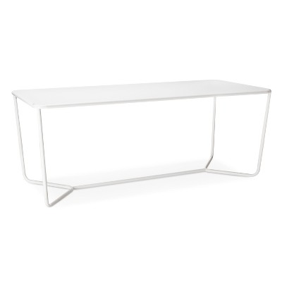 Rectangle Dining Table White Modern By Dwell Magazine Target, Dining Tables