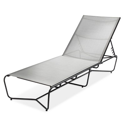 Outdoor Chaise Lounge Gray   Modern By Dwell Magazine