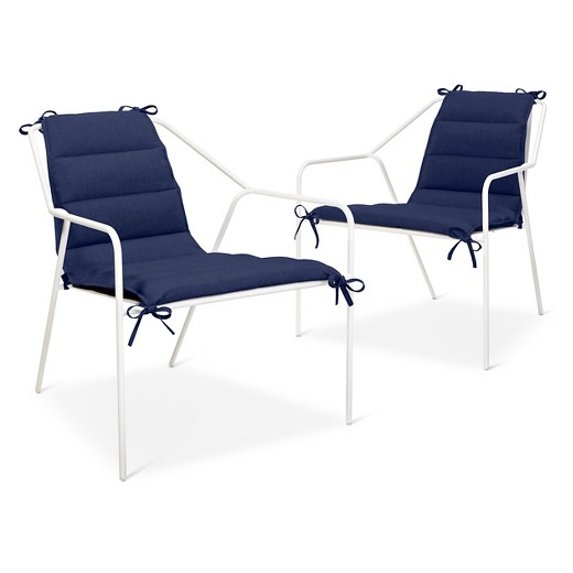 Outdoor Lounge Chair 2 pk White Modern by Dwell Magazine Tar